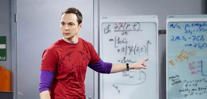 لقطة من مسلسل Big Bang Theory