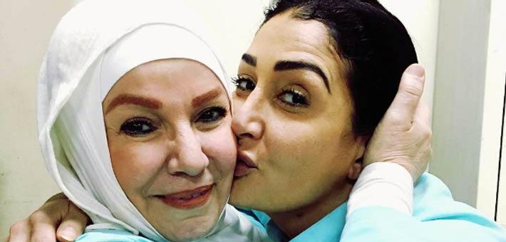 غادة عبد الرازق ومشيرة إسماعيل