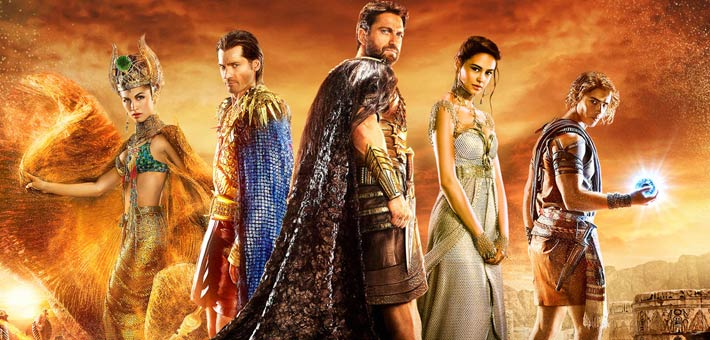 أفيش Gods of Egypt
