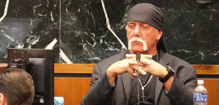 هولك هوجان في قاعة المحكمة