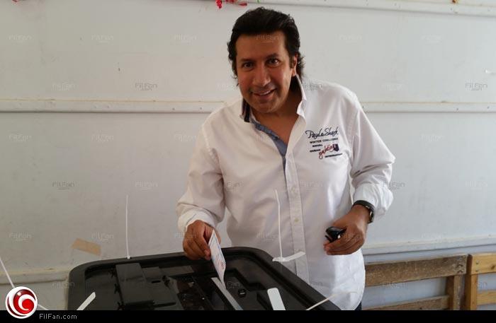 هاني رمزي أثناء اختيار رئيس مصر