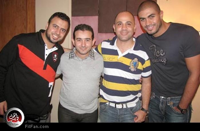 خالد سليم وعزيز الشافعي وأحمد عادل ومصطفى حسني