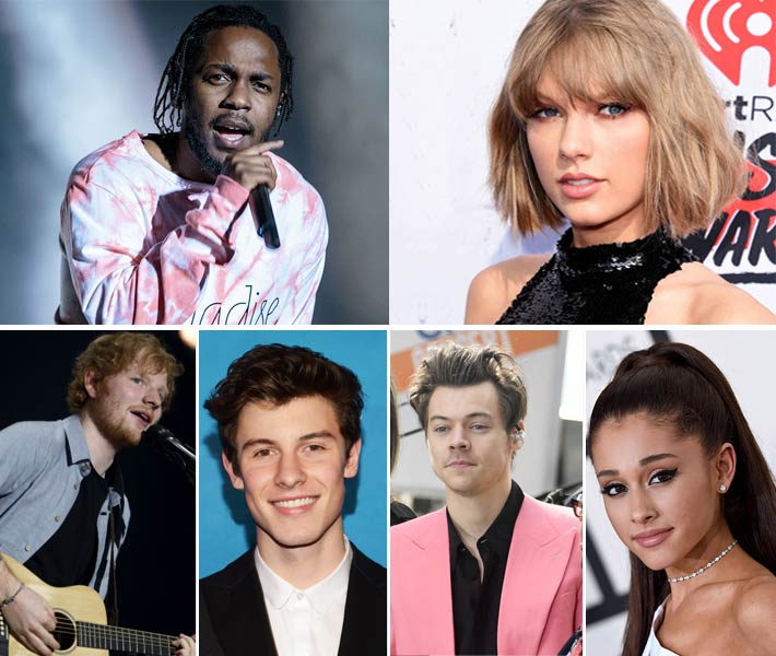 ترشيحات جوائز MTV EMAs