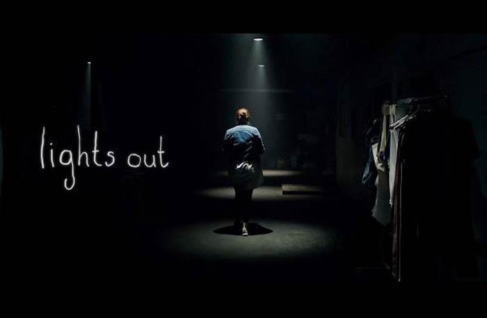 الملصق الدعائي لفيلم Lights Out