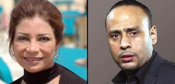 سوسن بدر ومحمود عبد المغني