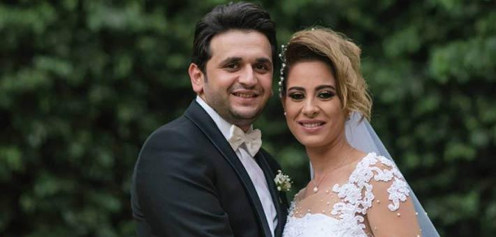 صورة- بهذه الكلمات احتفل مصطفى خاطر بعيد زواجه الأول