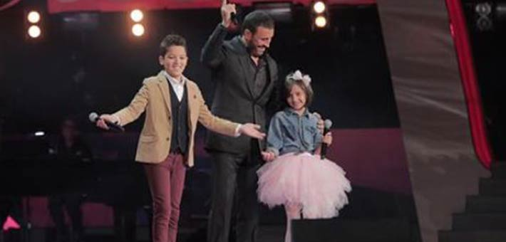 حمزة لبيض يفوز بلقب The Voice Kids