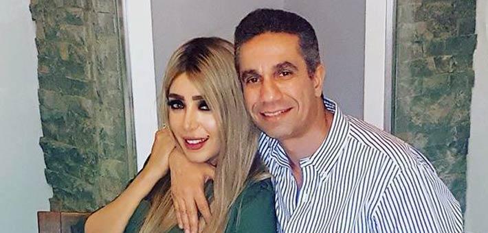 العقيد محمد سمير وإيمان أبو طالب