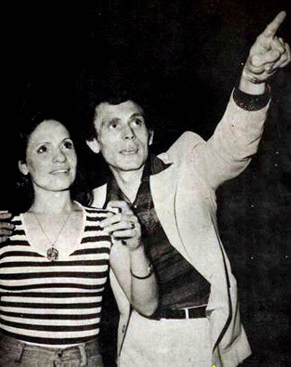 محمد صبحي وزوجته نيفين حسين