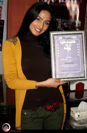 """ميس حمدان أفضل مقدمة برامج منوعات في استفتاء مجلة """"سيدتي"""""""