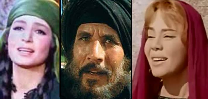 ماجدة وعبد الله غيث وسميرة أحمد من أشهر من جسدوا المؤمنين في الأفلام الدينية
