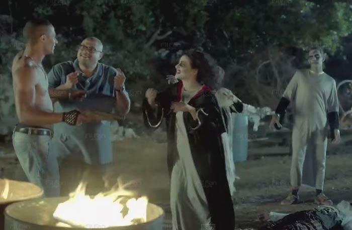 دنيا سمير غانم ترقض مع محمد رمضان