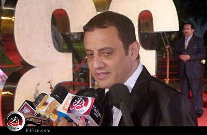 طارق علام يتحدث للإعلام في ختام مهرجان القاهرة السينمائي