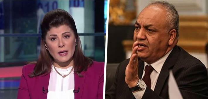 مصطفى بكري وأماني الخياط