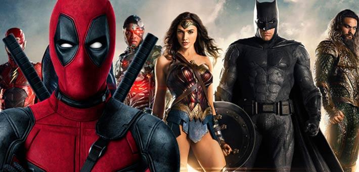Deadpool vs Justice League