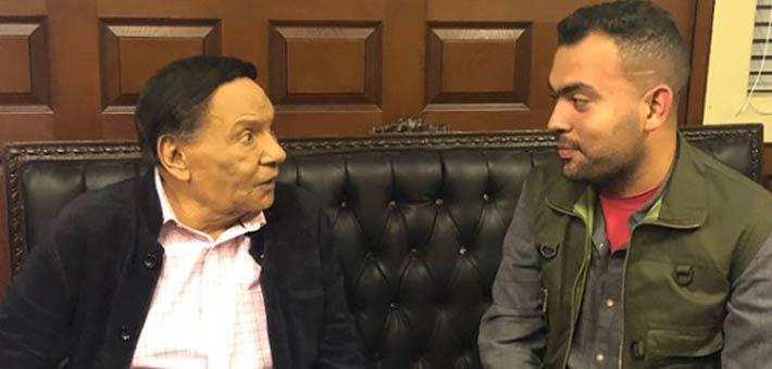 خالد عليش وعادل إمام