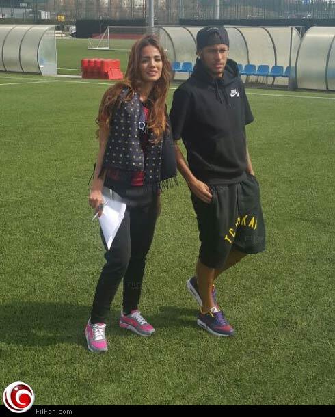 ياسمين عمر مع نيمار