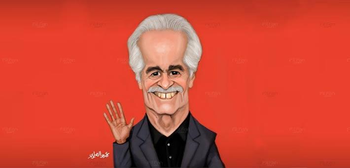 وداعا عمر الشريف l رسوم: عمرو الصاوي