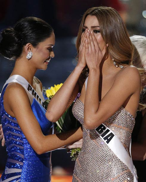 ملكة جمال كولومبيا مصدومة