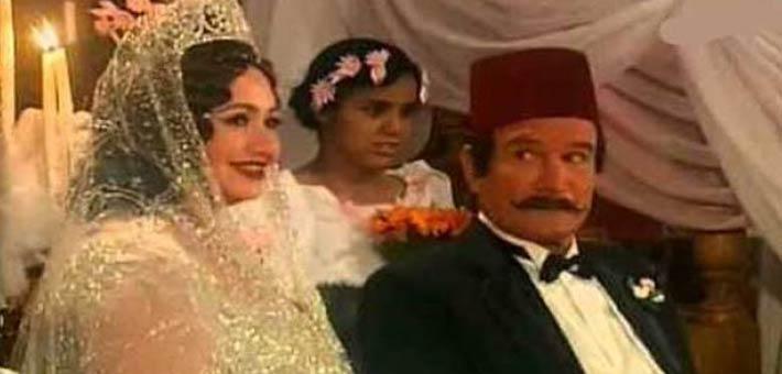 """زفاف """"المراكيبي"""" و""""هدى هانم"""" في """"حديث الصباح والمساء"""""""
