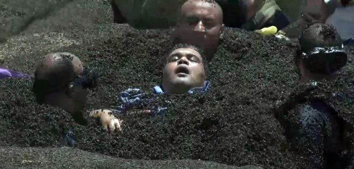 """أحمد فتحي يغشى عليه في """"رامز تحت الأرض"""""""