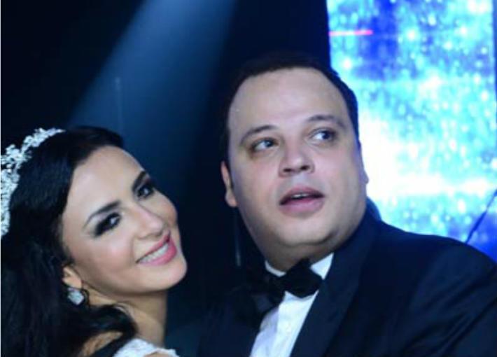 تامر عبد المنعم وزوجته