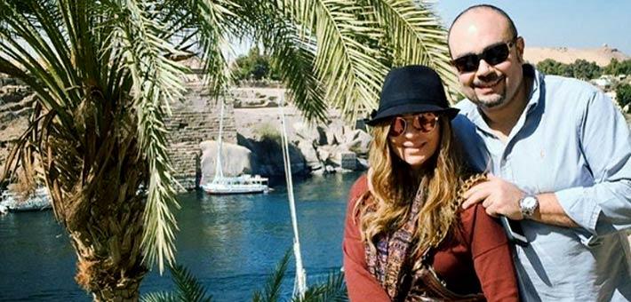 كارول سماحة وزوجها