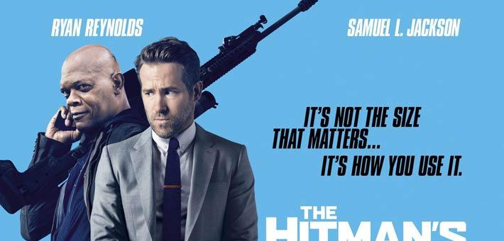 الملصق الدعائي لفيلم The Hitman's Bodyguard