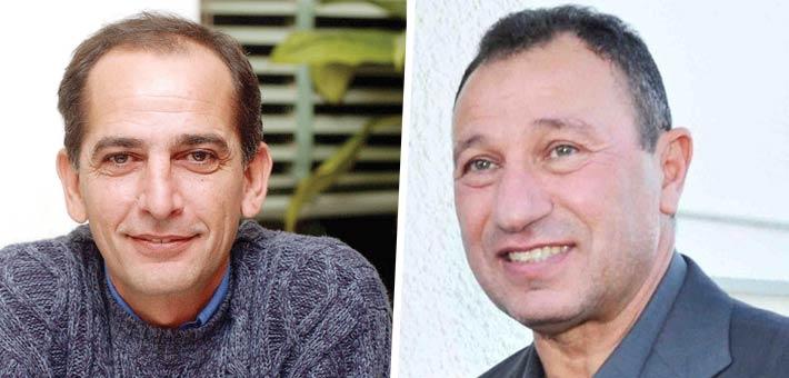 محمود الخطيب وهشام سليم
