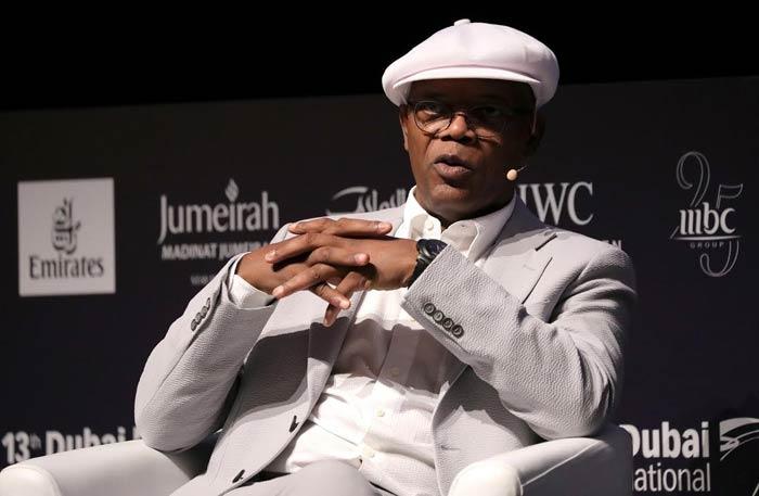 صامويل جاكسون في مهرجان دبي السينمائي