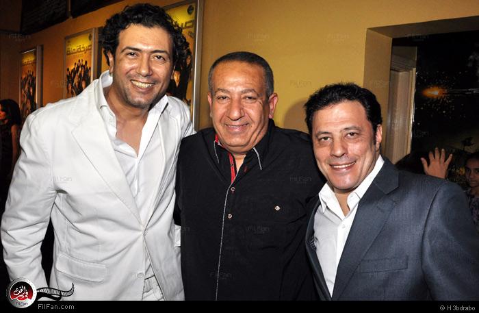 عمرو عبد الجليل وكامل أبو علي وأحمد وفيق