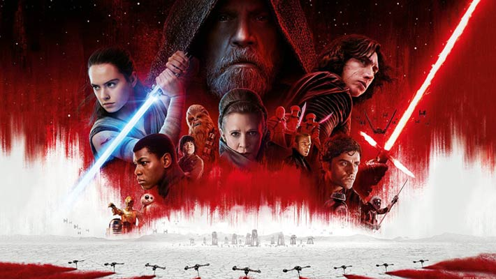 الملصق الدعائي لفيلم The Last Jedi