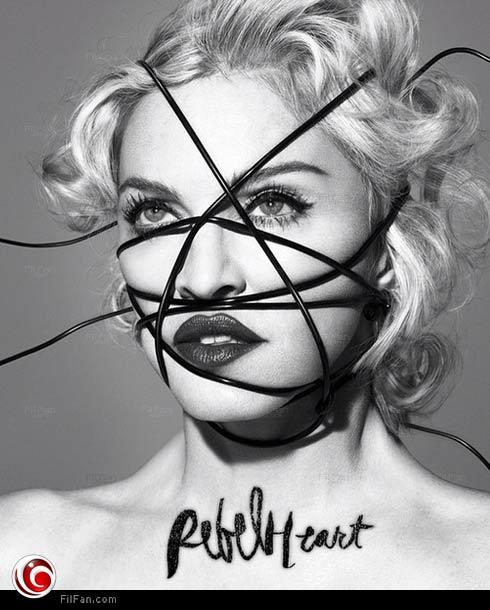 """مادونا في غلاف ألبومها """"Rebel Heart"""""""
