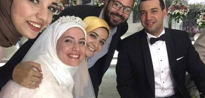 معز مسعود وبسنت نور الدين