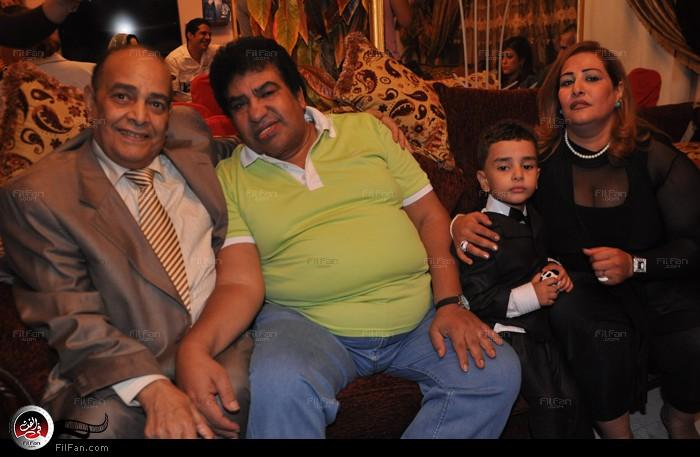 عدوية ووالد تامر وأخيه ووالدته