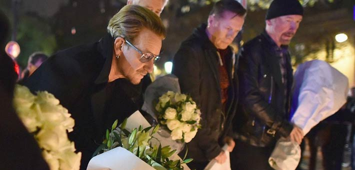 أعضاء فريق U2