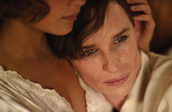 إيدي ريدماين في لقطة من فيلم The Danish Girl (٢٠١٥)