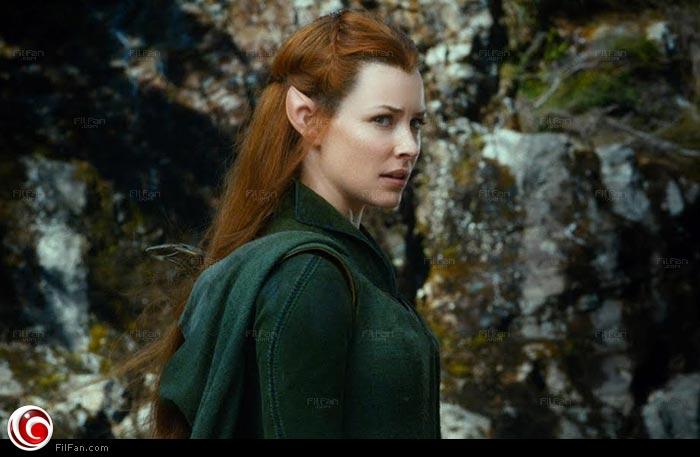 "لقطة من فيلم ""The Hobbit: The Desolation of Smaug"""