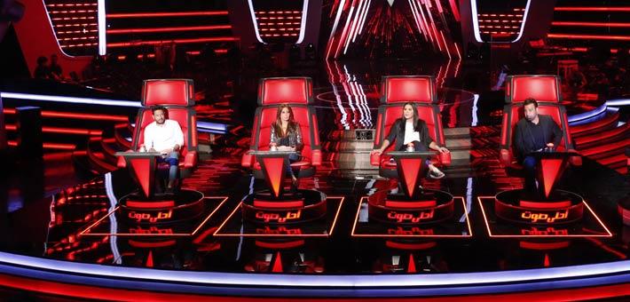 أعضاء The Voice، قبل استبعاد أحلام