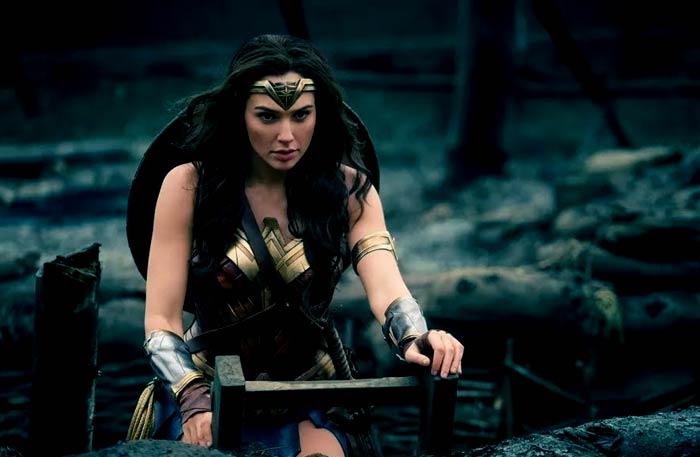 جال جادوت في Wonder Woman
