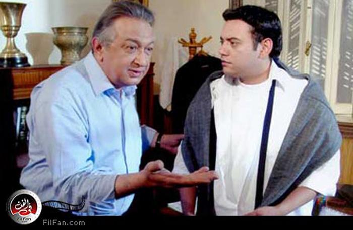 """أحمد الدمرداش ونور الشريف في لقطة من """"حضرة المتهم أبي"""""""