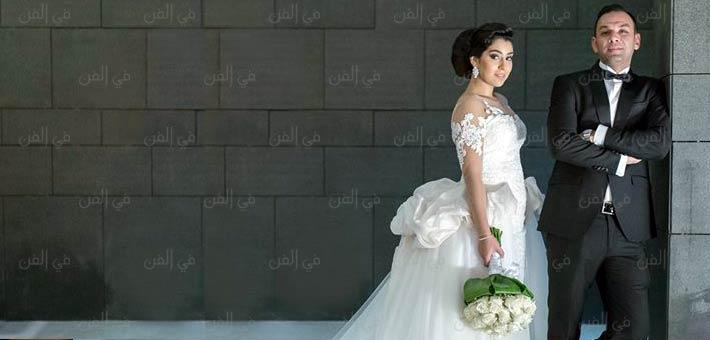 82c85c1c3d467 صورة- هكذا ردت أيتن عامر على منتقدي فستان زفافها