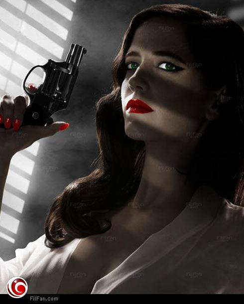 """إيفا جرين على الملصق الدعائي للجزء الجديد من """"Sin City"""""""