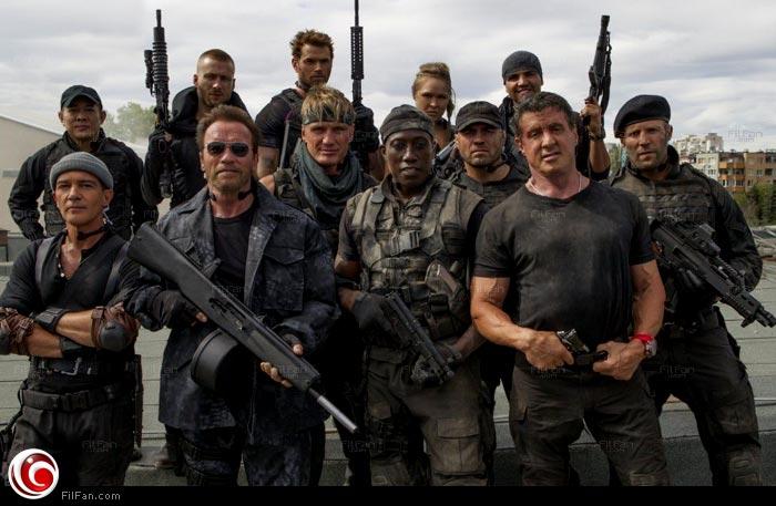أبطال فيلم The Expendables 3