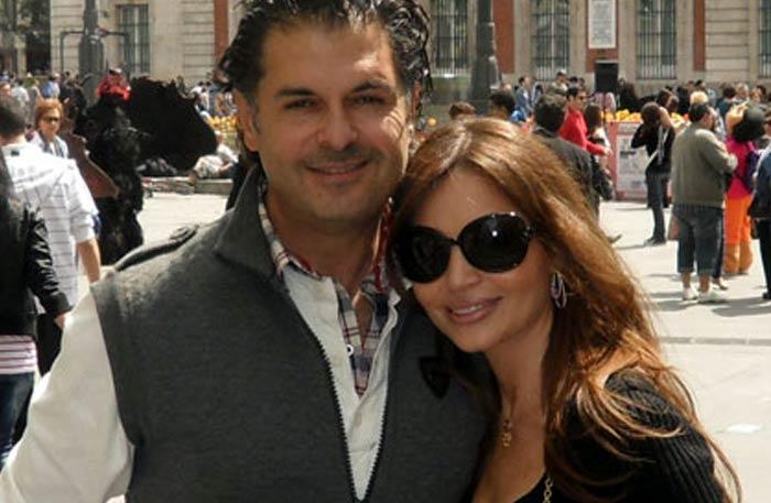جيهان علامة مع زوجها راغب علامة