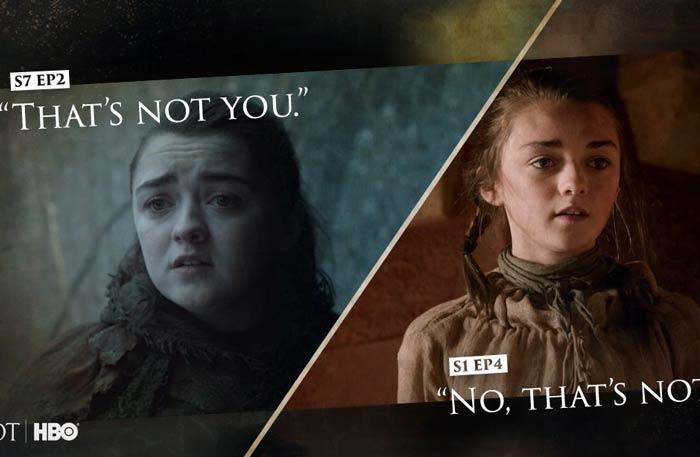 ٤ لقطات في حلقة Game Of Thrones الثانية لن تفهما إلا بعد