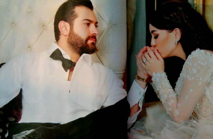 كندة علوش وعمرو سعد في حفل زفافهما