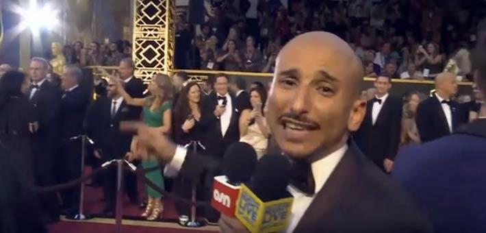 خالد منصور في حفل الأوسكار 2016