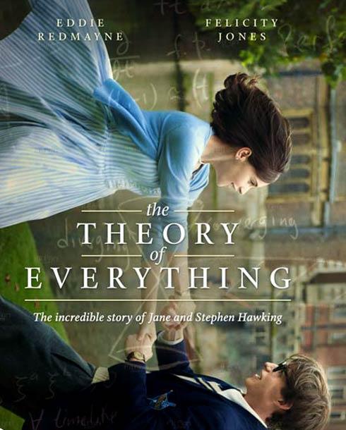"""أفيش فيلم """"نظرية كل شيء"""""""