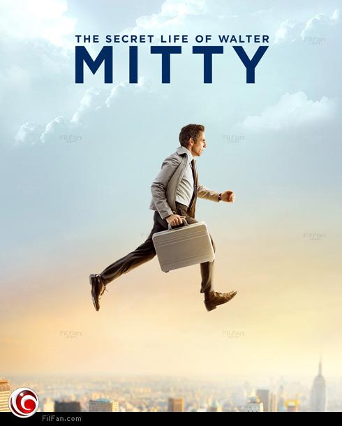 بن ستيلر في الملصق الترويجي لـ The Secret Life of Walter Mitty